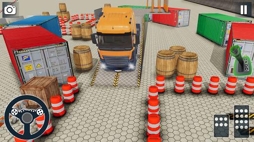 بازی اندروید پارکینگ جدید کامیون - پارکینگ سخت - New Truck Parking 2020: Hard PvP Car Parking Games