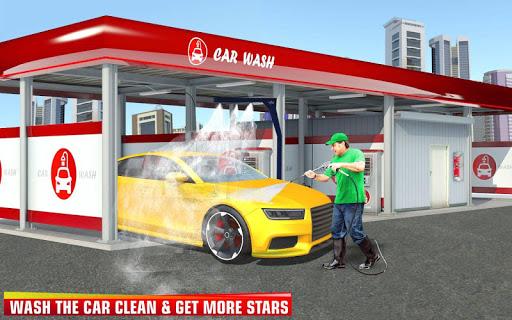 بازی اندروید شبیه ساز کارواش - تعمیرگاه - Indian Smart Car Wash Driving Simulator