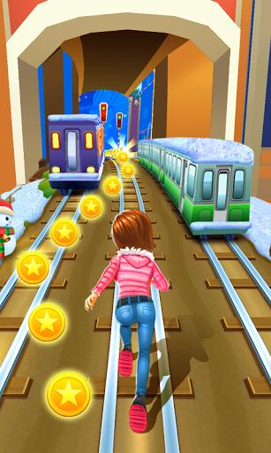 بازی اندروید شاهزاده خانم دونده مترو - Subway Princess Runner
