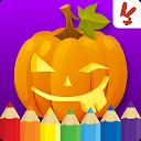 کودکان هالووین کتاب رنگ آمیزی