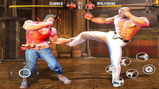 بازی اندروید کاراته کونگ فو واقعی - مبارزه سایه کاراته - Kung fu fight karate Games: PvP GYM fighting Games