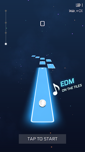 بازی اندروید سیاره رقص - موزیک فضایی - Dancing Planet: Space Rhythm Music Game