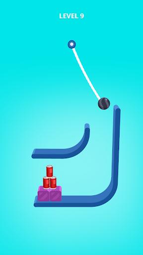 بازی اندروید برش طناب - Rope Slash