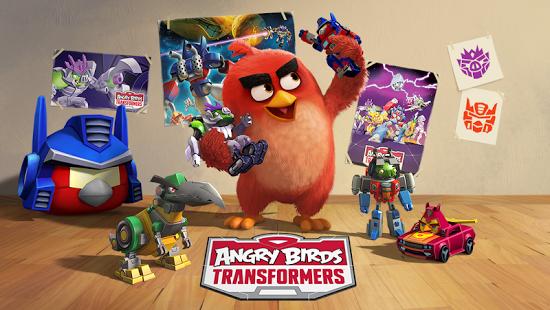 بازی اندروید پرندگان عصبانی ترانسفورمر - Angry Birds Transformers