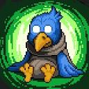 مرغ آبی خوشبختی