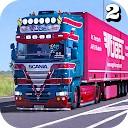 شبیه ساز حمل کامیون اروپایی 2 -بار کامیون