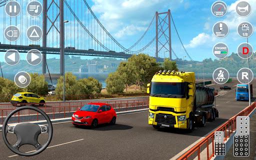 بازی اندروید شبیه ساز حمل کامیون اروپایی 2 -بار کامیون - Euro Truck Transport Simulator 2: Cargo Truck Game