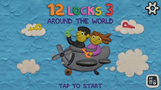 بازی اندروید 12 لیست 3 - در سراسر جهان - 12 LOCKS 3: Around the world
