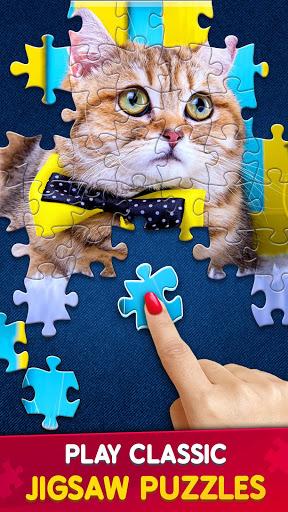 بازی اندروید برخورد کلاسیک پازل چند نفره - Jigsaw Puzzles Clash - Classic or Multiplayer