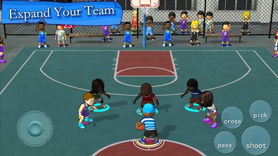 بازی اندروید انجمن بسکتبال خیابانی - Street Basketball Association