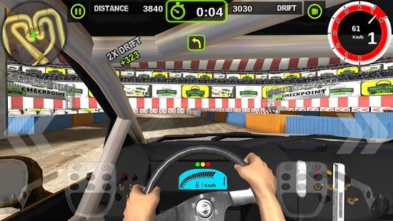 بازی اندروید رالی ریسر - Rally Racer