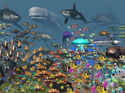 بازی اندروید واقعیت مجازی آکواریوم اقیانوسی - VR Ocean Aquarium 3D