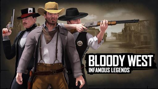 بازی اندروید غرب خونین - افسانه بدنام - Bloody West: Infamous Legends