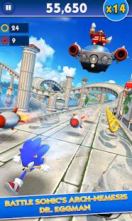 بازی اندروید سونیک دَش - Sonic Dash