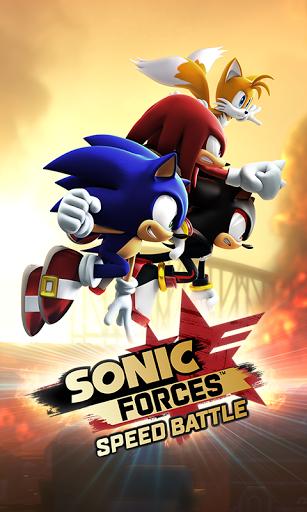 بازی اندروید نیروهای صوتی - سرعت نبرد - Sonic Forces: Speed Battle