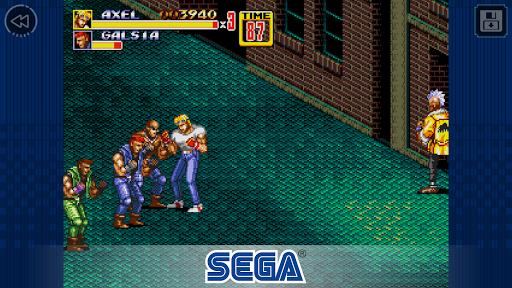 بازی اندروید خیابان خشم 2 - Streets of Rage 2 Classic