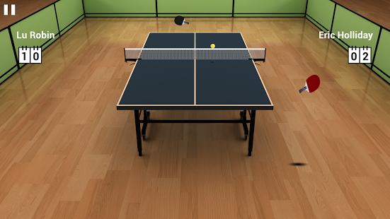 بازی اندروید تنیس روی میز مجازی - Virtual Table Tennis