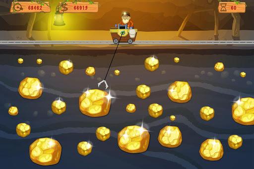 بازی اندروید طلای وگاس - Gold Miner Vegas: Gold Rush