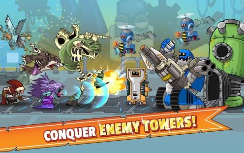 بازی اندروید فتح قلعه - Tower Conquest
