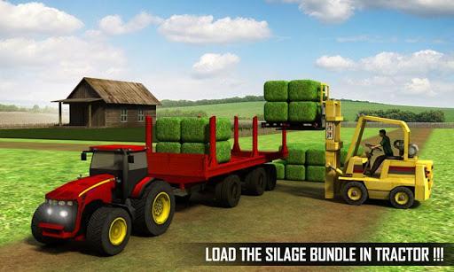 بازی اندروید تراکتور حمل و نقل سیلو - Silage Transporter Tractor