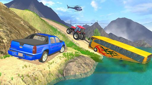 بازی اندروید شبیه ساز بکسل تراکتور - Tractor Pull Simulator Drive