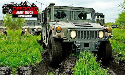 بازی اندروید شبیه ساز کامیون ارتش - Us Army Truck Simulator Drive