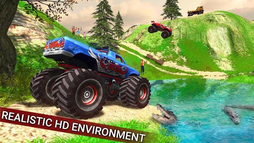 بازی اندروید وانت هیولای آفرود - Offroad Monster Hill Truck