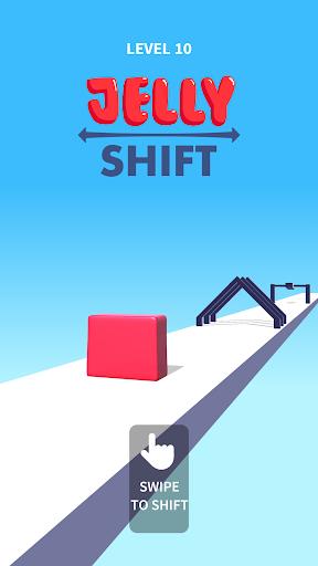 بازی اندروید انتقال ژله - Jelly Shift
