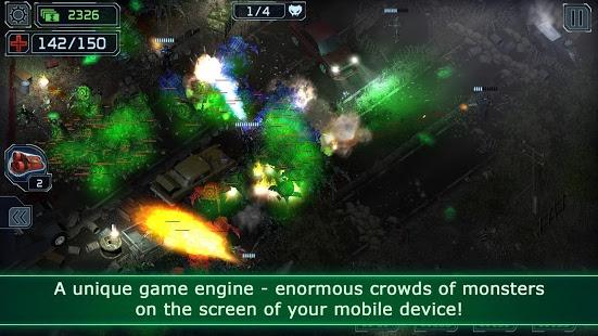 بازی اندروید تیرانداز بیگانه - Alien Shooter TD