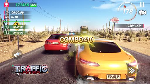 بازی اندروید هیجان ترافیک - بازی مسابقه - Traffic Fever-Racing game