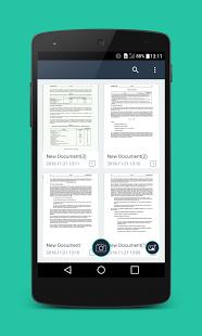 نرم افزار اندروید اسکن ساده - اسکنر پی دی اف - Simple Scan - PDF Scanner App