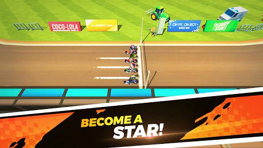 بازی اندروید راه قهرمانان سرعت - Speedway Heroes
