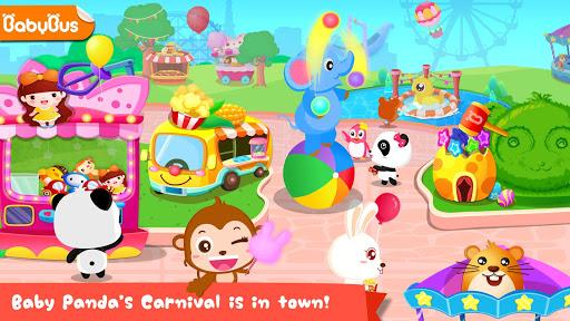 بازی اندروید کارناوال بچه پاندا - Baby Panda's Carnival