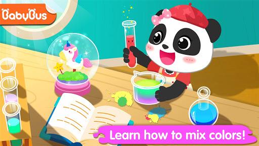 بازی اندروید صنایع دستی رنگ پاندا کوچولو - Little Panda's Color Crafts