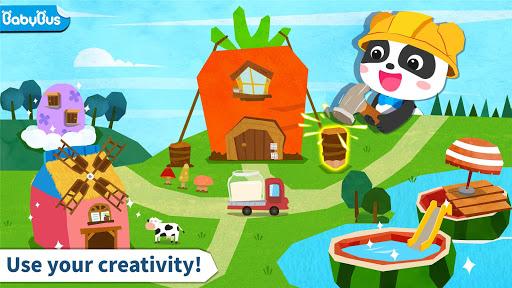 بازی اندروید طراحی خانه پاندا کوچولو - Baby Panda's Pet House Design