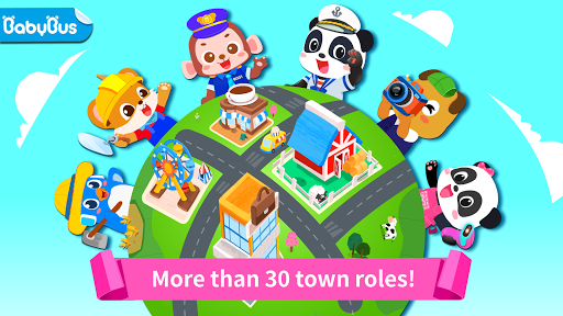 بازی اندروید زندگی شهر کودک پاندا - Baby Panda's Town: Life