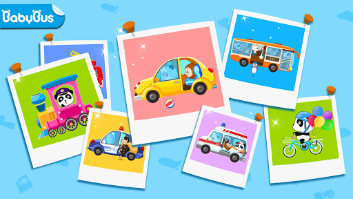 بازی اندروید یادگیری حمل و نقل کودک - Baby Learns Transportation