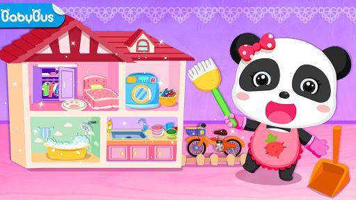 بازی اندروید کودک پاندا مبارک تمیز - Baby Panda Happy Clean
