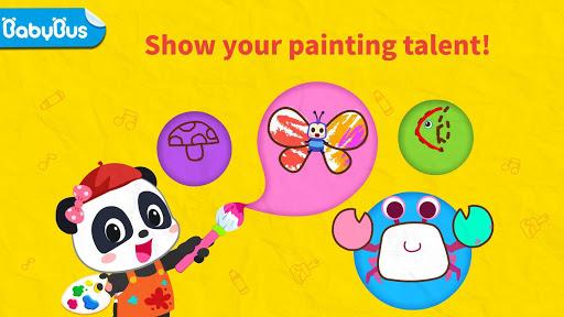 بازی اندروید کلاس هنری کودک پاندا - موسیقی و نقاشی - Baby Panda's Art Classroom: Music & Drawing
