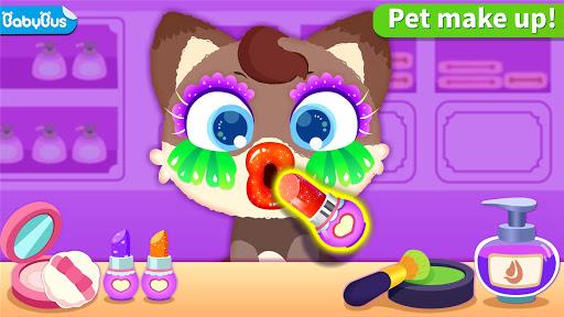بازی اندروید سالن پاندا کوچولو پت - Little Panda's Pet Salon
