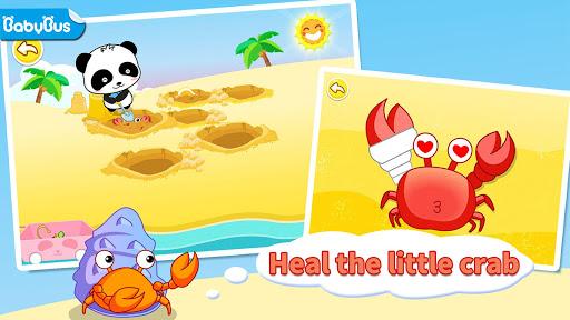 بازی اندروید جزیره گنج پاندا کوچولو - Baby Panda's Treasure Island