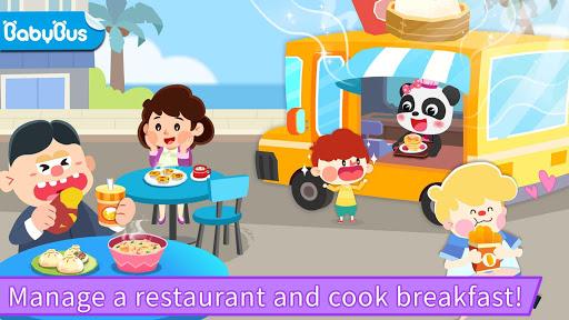 بازی اندروید رستوران آشپزی بچه پاندا - Baby Panda's Cooking Restaurant