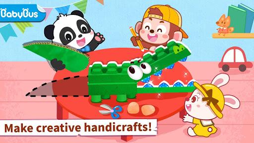 بازی اندروید پازل حیوانات بچه پاندا - Baby Panda's Animal Puzzle