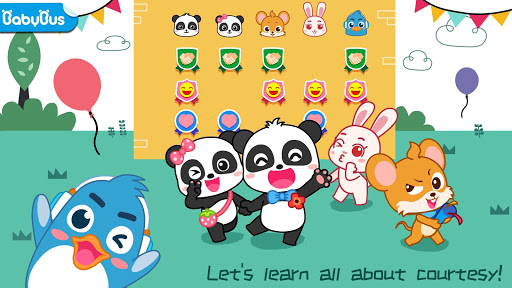 بازی اندروید خانواده و دوستان بچه پاندا - Baby Panda's Family and Friends