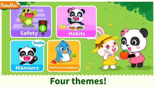 بازی اندروید مراقبت از کودک پاندا - ایمنی و عادات - Baby Panda's Care: Safety & Habits