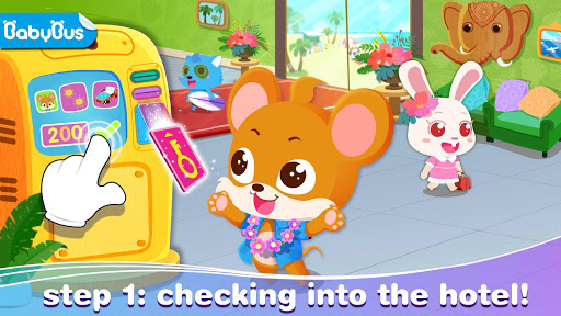 بازی اندروید تعطیلات کودک پاندا - Baby Panda's Vacation