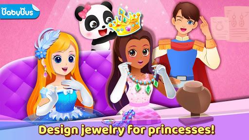 بازی اندروید طرح جواهرات پرنسس پاندا کوچولو - Little Panda's Princess Jewelry Design