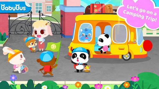 بازی اندروید سفر کمپینگ پاندا کوچولو - Little Panda's Camping Trip