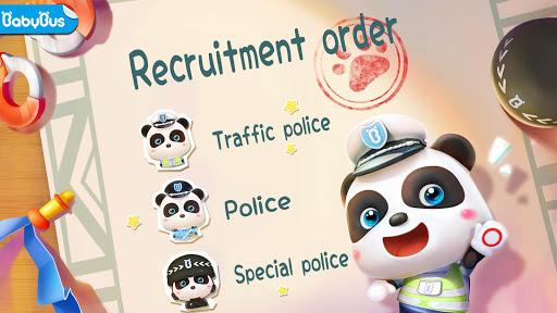 بازی اندروید پاندا کوچولوی پلیس  - Little Panda Policeman