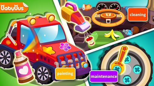 بازی اندروید فروشگاه تعمیر خودرو پاندا کوچولو - Little Panda's Auto Repair Shop